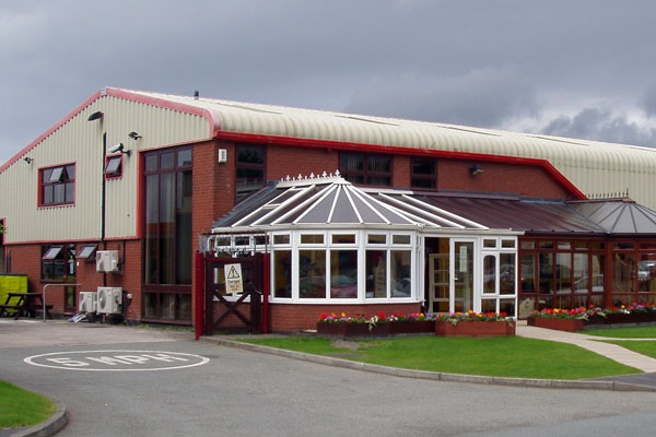 Commercial building and extension in North Wales