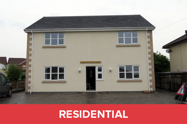 Residential property in North Wales