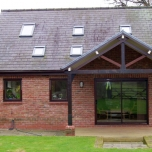 Country house extension, Flintshire